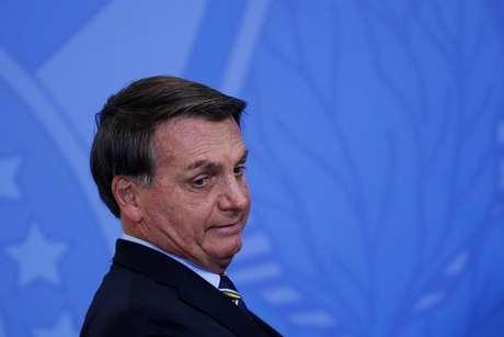 Bolsonaro, em evento no Planalto, em Brasília 17/6/2020 REUTERS/Adriano Machado