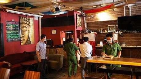 O bar Buddha foi inspecionado pela polícia antes de reabrir