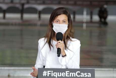 A secretária de Desenvolvimento Econômico do Estado de São Paulo, Patricia Ellen