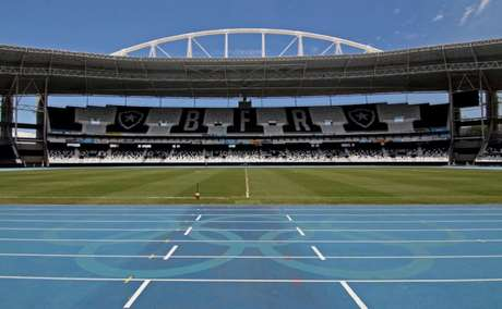 Estádio Nilton Santos (Foto: Vitor Silva / SS Press / BFR)