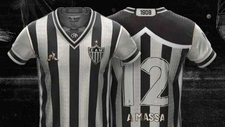 """""""Manto da Massa"""", o terceiro uniforme do Atlético-MG"""
