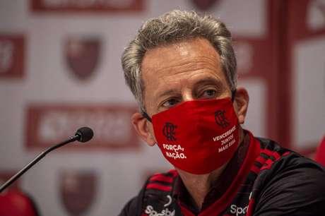 Rodolfo Landim, presidente do Flamengo, garantiu o compromisso do clube com o Campeonato Carioca (Foto: Divulgação/Marcelo Cortes)