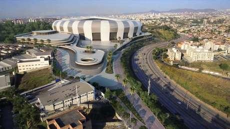 O estádio do Galo, que terá nome da empresa de Menin, é um dos trunfos do alvinegro para ser um clube mundial-(Reprodução/Atlético-MG)