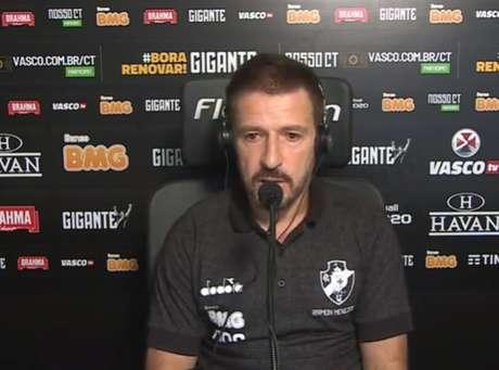 'O time se soltou mais no segundo tempo', afirmou Ramon Menezes (Reprodução / VascoTV)