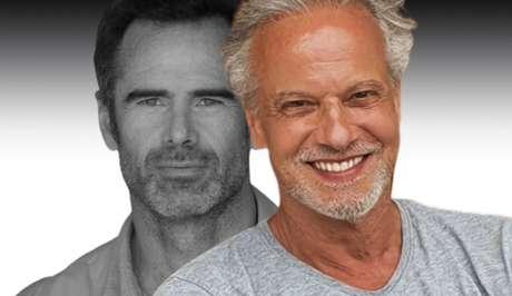 Ricardo Carriço (à direita) substituirá o amigo Pedro Lima na novela Amar Demais, com estreia agendada para setembro na TVI