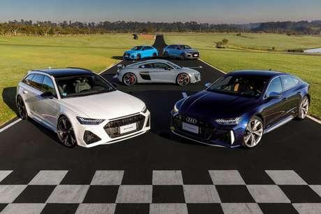 Recorde em 27 anos no Brasil: Audi registra 273 esportivos comercializados no país durante o primeiro trimestre de 2021.