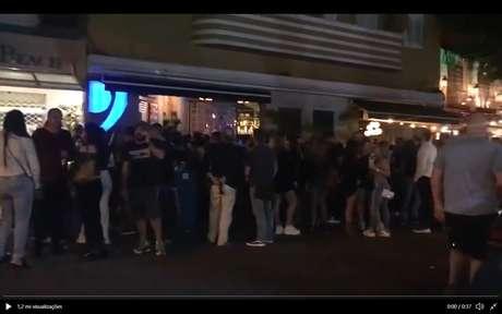 Primeira noite de reabertura dos bares no Rio de Janeiro