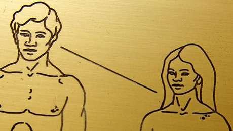 Alguns ficaram incomodados que a mulher parece ter uma atitude submissa em relação ao homem, com ele olhando para a frente, enquanto ela não