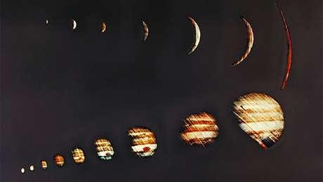 Em 4 de dezembro de 1973, a sonda Pioneer 10 da Nasa enviou imagens de Júpiter de alta resolução
