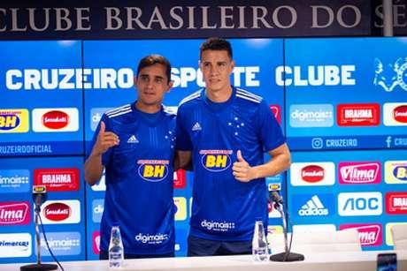 Everton Felipe teve vínculo com a Raposa rescindindo após imbróglio com o São Paulo (Foto: Bruno Haddad/Cruzeiro)