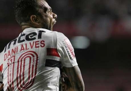Com cinco gols, Daniel é o artilheiro do São Paulo no ano - FOTO: Rubens Chiri/São Paulo FC