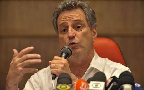 Rodolfo Landim preside o Flamengo desde janeiro de 2019 (Foto: Marcelo Cortes/Flamengo)