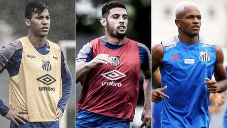 Santos tem o ataque com média de idade mais nova entre os quatro grandes paulistas (Foto: Divulgação/Santos)