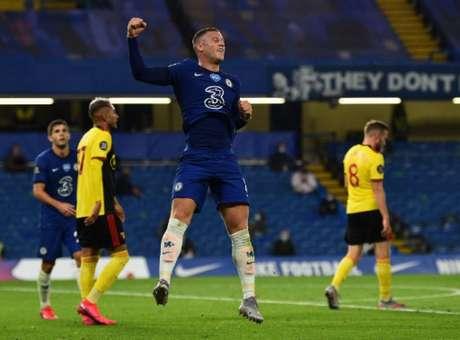Chelsea venceu por 3 a 0 (Foto: GLYN KIRK / POOL / AFP)