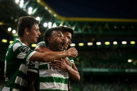 Brasileiro Wendel marcou gol no último jogo do Sporting (Foto: MARIO CRUZ / AFP)