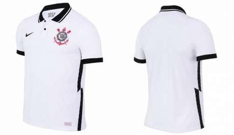 Nova camisa 1 do clube foi lançada na tarde deste domingo, em programa da Band com Neto (Foto: Divulgação/Nike)