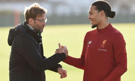 Virgil Van Dijk é um dos principais nomes do time multicampeão comandado por Jurgen Klopp (Foto: Reprodução/Liverpool)
