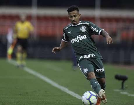 Alanzinho ainda não tem jogos oficiais pelo Palmeiras (Foto: Divulgação/Palmeiras)