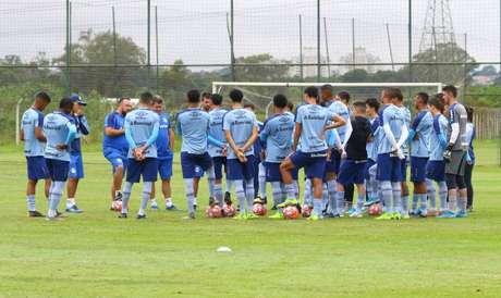 As atividades das categorias de base do Grêmio foram retomadas nesta segunda-feira (Foto: Divulgação/Rodrigo Fatturi)