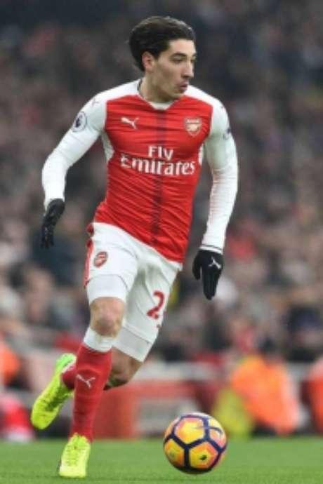 Bellerín joga no Arsenal (Foto: GLYN KIRK / AFP)