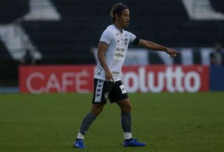 Honda em ação contra o Fluminense (Foto: Vítor Silva/Botafogo)