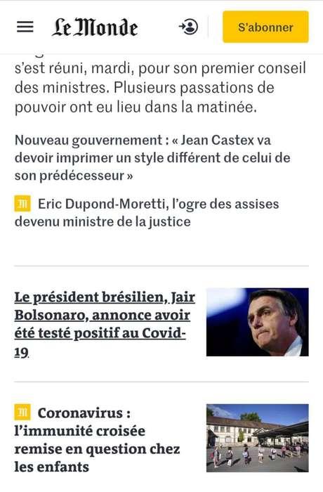 Le Monde/reprodução