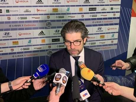 Juninho é dirigente do Lyon, da França (Foto: Reprodução / Twitter)