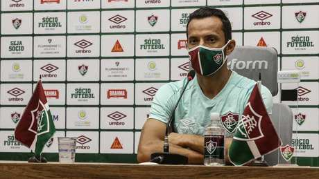 Nenê vê favoritismo do rival na decisão da Taça Rio (Foto: Lucas Merçon/ Fluminense)