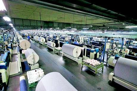 Indústria têxtil é um dos setores ainda beneficiados pela desoneração da folha.