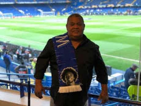 Severino Vieira da Silva, o pai do atacante Willian, hoje no Chelsea