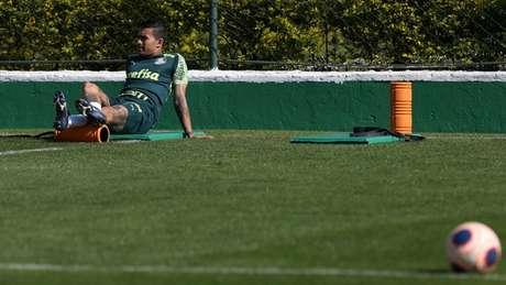 Perto de sair, Dudu é elogiado pelo dirigente que o trouxe de volta para o Palmeiras (Cesar Greco/Agência Palmeiras)