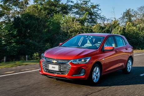 Novo Onix: 86,2% das vendas do carro, mas é menos do que o Hyundai HB20 conseguiu.