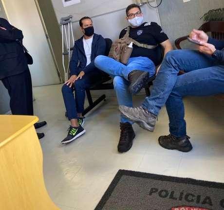 Ricardo Nunes é fotografo logo após ser preso