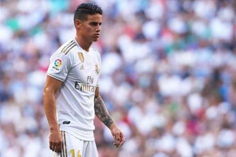 Futuro de James Rodríguez no Real Madrid ainda é incerto (Foto: Reprodução / Twitter)