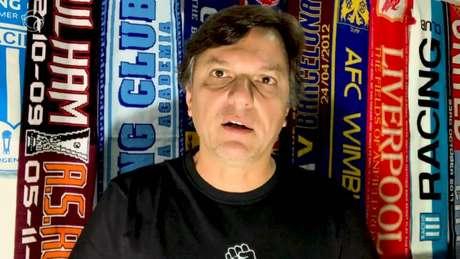 Mauro Cezar comentou sobre a transmissão na FluTV da final da Taça Rio (Reprodução)
