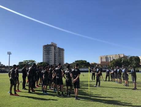 Treino do Botafogo (Foto: Divulgação/Botafogo)