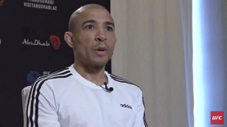 José Aldo afirmou que não é o momento para discutir sobre o salário dos atletas (Foto: Reprodução/YouTube/UFC)