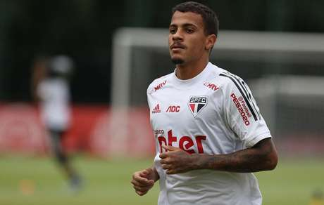 Diego tem duas partidas como profissional do São Paulo - FOTO: Rubens Chiri/saopaulofc.net