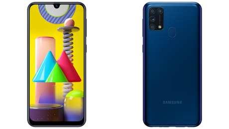 O preço sugerido do novo Galaxy M31 da Samsung é de R$ 1.999