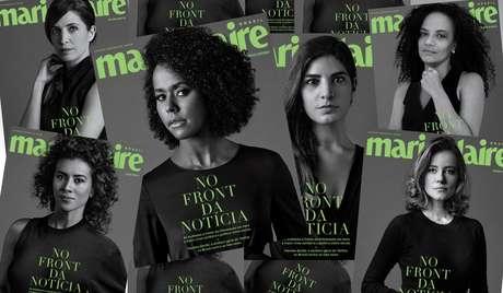 Maju Coutinho, Andréia Sadi e outras jornalistas de TV do Grupo Globo falaram sobre a pressão de trabalhar no meio de uma crise mundial de saúde