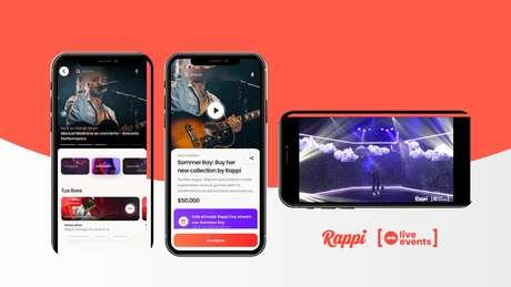 O Rappi Live Events é uma das três novidades que o novo segmento Rappi Entretenimento irá levar ao app da startup colombiana