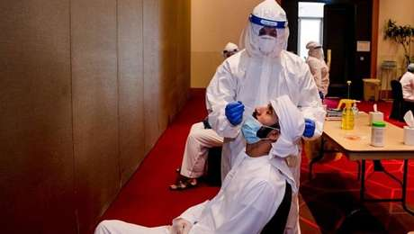 Testagem e controles de circulação são rigorosos para o UFC em Abu Dabi