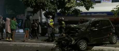 Dois homens morreram e três ficaram feridos em acidente na Zona Leste