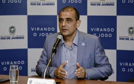 O ex-secretário estadual de Saúde do Rio de Janeiro Edmar Santos