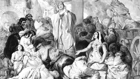 A peste negra foi a epidemia que mais matou na História