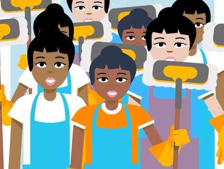 Projeto usa recursos como áudios e vídeos para explicar os direitos das empregadas domésticas
