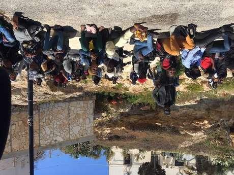 Migrantes acolhidos em Lampedusa, em foto de arquivo
