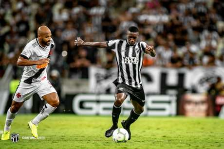 William Oliveira em jogo contra o Vasco, em 2019 (Foto: Divulgação/Ceará)