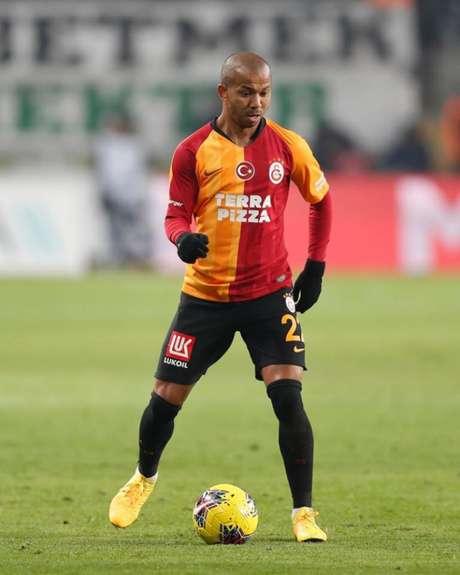 Mariano viveu grande fase com a camisa do Galatasaray, na Turquia, mas quer voltar- (Galatasaray/Divulgação