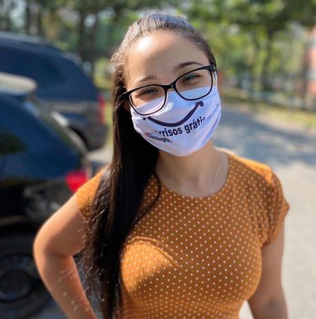 Projetos doam máscaras e espalham sorrisos durante pandemia